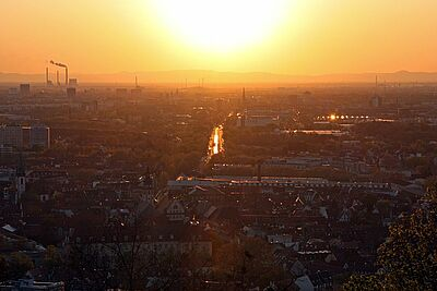 Stadt erarbeitet Klimaanpassungsstrategie 2021. Foto: cg