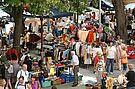 Kruschtlmarkt in Durlach. Foto: cg