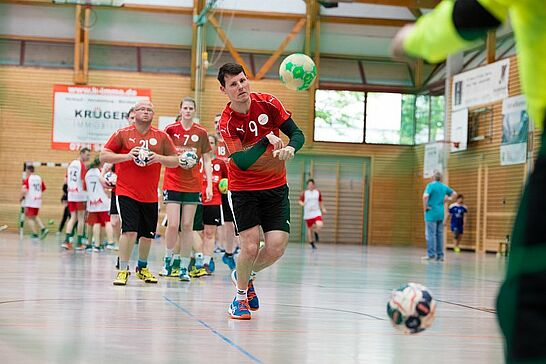 """30 Heimspiel VI – Das inklusive Handballturnier - Bei """"Heimspiel VI"""" zeigen vom 30. Mai bis 1. Juni inklusive Handball-Mannschaften in der Weiherhofhalle ihr Können. (174 Fotos/1 Video)"""