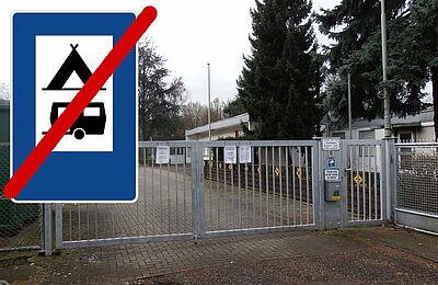 Der Durlacher Campingpark wurde geschlossen. Foto: pm