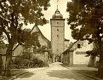 Blick auf das Basler Tor, 1918.
