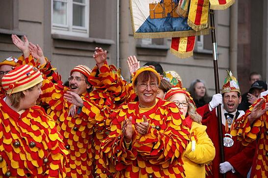 11 Rathaussturm des OKDF - Am 11.11. war es wieder soweit: Die Durlacher Fastnachter übernahmen endlich die Regentschaft im Rathaus. (34 Fotos)