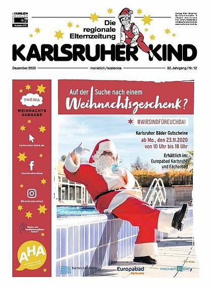 Karlsruher Kind: Ausgabe Dezember 2020. Grafik: pm