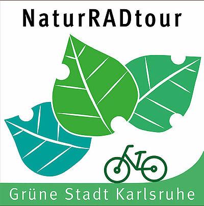 NaturRADtour Karlsruhe. Grafik: KTG