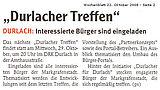 Wochenblatt vom 22. Oktober 2008