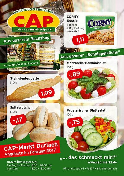 CAP-Markt: Angebote im Februar 2017