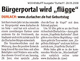 Wochenblatt vom 28. Mai 2008