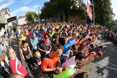 Mögliches Ziel: die Teilnahme am Durlacher Turmberglauf. Foto: cg