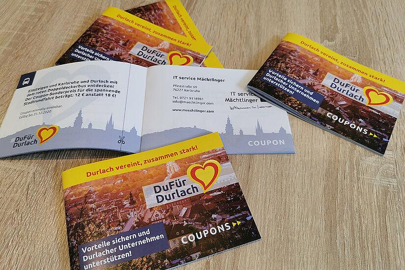 #DuFürDurlach – Couponheft-Aktion gestartet. Foto: om
