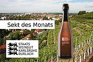 Sekt-Angebot im Oktober: 2019 Lemberger Weißherbst Sekt b.A. trocken. Grafik: pm