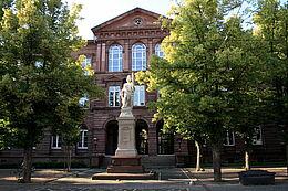 Friedrich-Realschule Durlach. Foto: cg