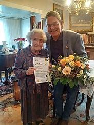 Respekt: 64 Jahre Treue der Bürgergemeinschaft gehalten. Foto: pm