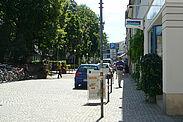 Die SPD und Grünen in Durlach werden sich in der Marstallstraße am Park(ing) Day 2020 beteiligen. Foto: cg