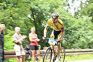 Über 1,8 km Strecke geht es hinauf auf den Durlacher Hausberg. Foto: pm