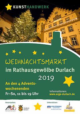 Weihnachtsmarkt im Rathausgewölbe Durlach