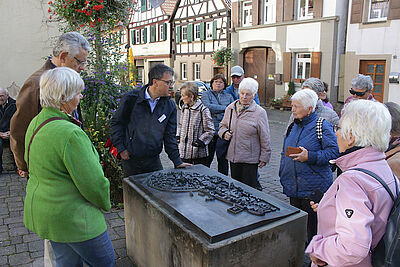 BG Untermühl- und Dornwaldsiedlung: Wissensreiche Führung durch Eppingen. Foto: pm
