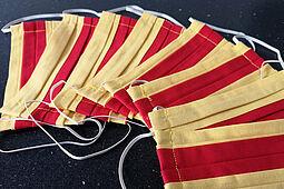 Objekte wie beispielsweise unsere Alltagsmasken in badischen Farben, die Durlacher.de für die Redaktion nutzt. Foto: om