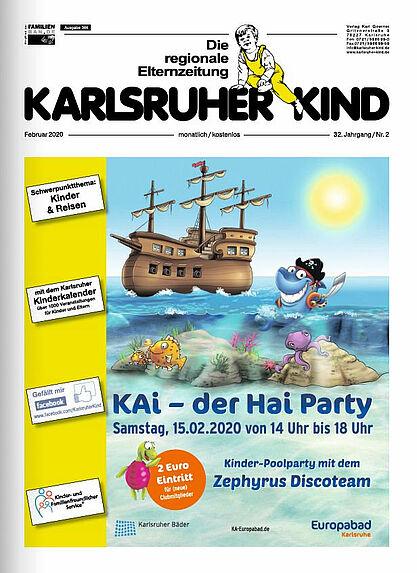 Karlsruher Kind: Ausgabe Februar 2020. Grafik: pm