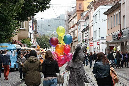 """15 MdM, Kerwe, Weinfest und mehr... (II) - """"Feschtles-Marathon"""" in der Durlacher Altstadt. (104 Fotos)"""