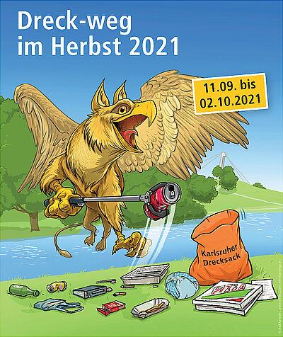 """""""Dreck-weg-Wochen 2021"""" dank großer Beteiligung erfolgreich. Grafik: pia"""