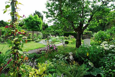 Gartenträume bei Offener Pforte auch in Durlach. Foto: pia