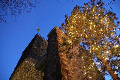 Sich auf dem Turmberg auf Weihnachten einstimmen. Foto: cg