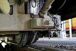 Probleme bereitet noch die Reinigung der Tram- und Stadtbahnen. Foto: cg