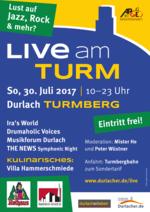 Live am Turm 2017 - Jazz, Rock und mehr...