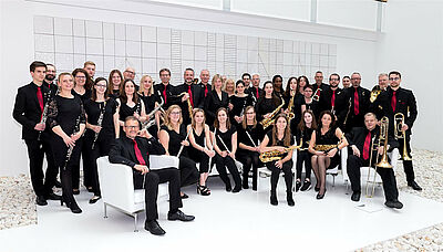 Bild: Musikforum Durlach – Die Bläserphilharmonie. Foto: cg