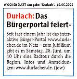 Wochenblatt vom 18. Juni 2008