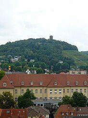 Blick auf die Karlsburg und den Turmberg. Foto: cg