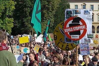 Fridays for Future in Karlsruhe – erneut wurde eine Demonstration angemeldet. Foto: cg