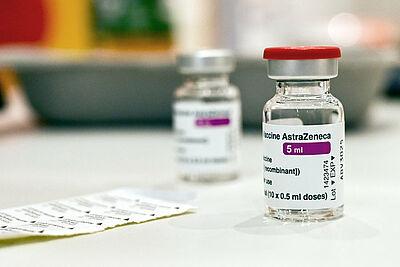 Impfstoff AstraZeneca. Foto: Stadt Karlsruhe