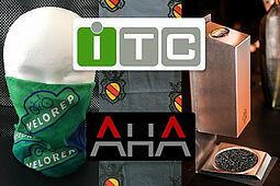 AHA-Multifunktionstücher und Desinfektionsspender made in Baden-Württemberg. Grafik: pm