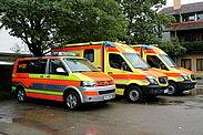 Das NEF des ASB könnte mit der Schließung der Paracelsus-Klinik an der Rettungswache in Durlach stationiert werden. Foto: ASB e.V. Region Karlsruhe