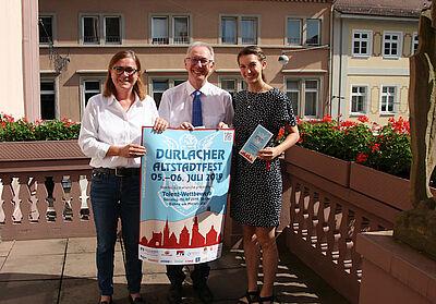 Durlacher Altstadtfest. Grafik: pm