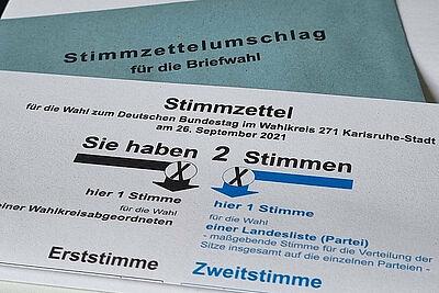 Bundestagswahl 2021: Fragen und Antworten zur Briefwahl. Foto: cg