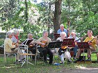 Durlacher Hausmusikensemble beim Pfinzaktionstag 2012
