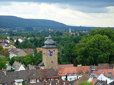 Auch der Basler-Tor-Turm kann besichtigt werden. Fotos: cg