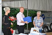Vorstandswechsel beim Musikverein Durlach-Aue. Foto: pm