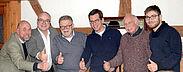 Die FDP Durlach neu aufgestellt (v.l.): Peter Nordwig, Dr. Stefan Noé, Dr. Wolfgang Eglau, Norman Gaebel, Günther Malisius, Nikolai Ditzenbach. Foto: pm