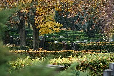 Bergfriedhof Durlach. Foto: cg
