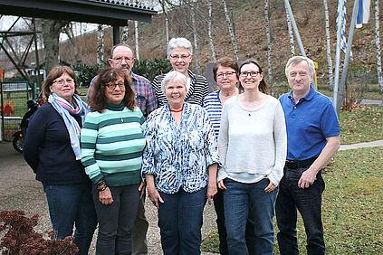 Der Vorstand der Bürgergemeinschaft Untermühl- und Dornwaldsiedlung e.V. Foto: pm