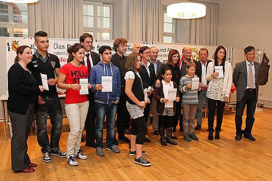 06 Treffen von EDuKaRe mit Ministerin Öney - Die Ministerin für Integration in Baden-Württemberg Bilkay Öney kam im Durlacher Rathaus mit der Gruppe EDuKaRe zusammen. (13 Fotos)