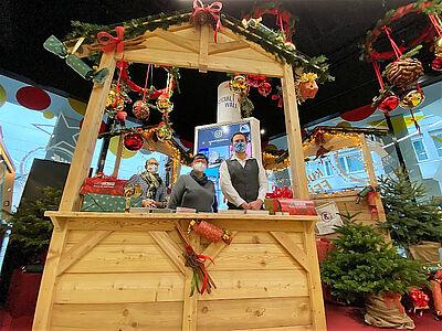 Die Kulturhütte erwartet in diesem Jahr ihre Gäste im Schaufenster Karlsruhe – direkt am Marktplatz. Foto: pm
