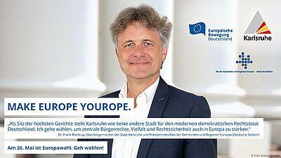OB ruft zur Europawahl auf. Foto: pia