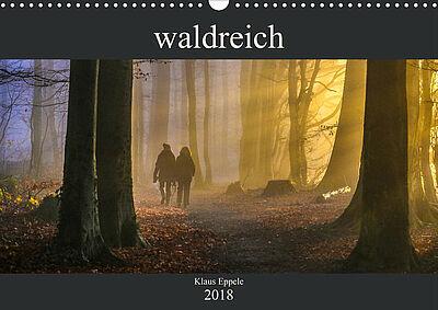 """waldreich"" – Cover des Monatskalenders. Foto: pm"