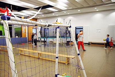 Ein Ort für Bewegung und Miteinander: Das Kinder- und Jugendhaus Durlach (KJH) in der Weiherstraße. Foto: cg