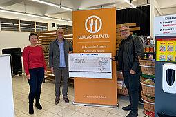 Seit vielen Jahren Partner: Raumfabrik unterstützt die Durlacher Tafel. Foto: pm