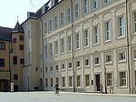 Stadtbibliothek Durlach in der Karlsburg. Foto: cg